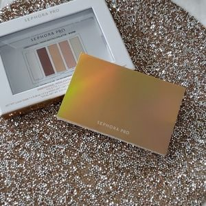 Sephora Pro Dimensional Highlighting palette warm